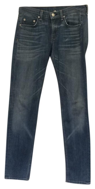 Item - Denim Distressed The Dre Straight Leg Jeans Size 4 (S, 27)