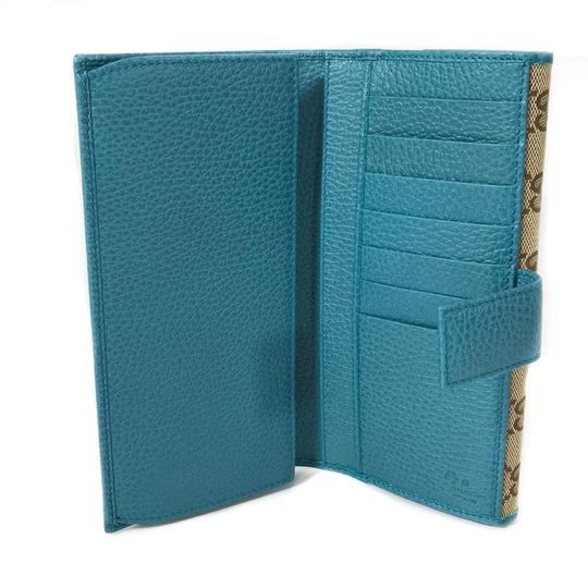 Gucci NEW GUCCI 231841 GG Guccissima Canvas Wallet Image 10