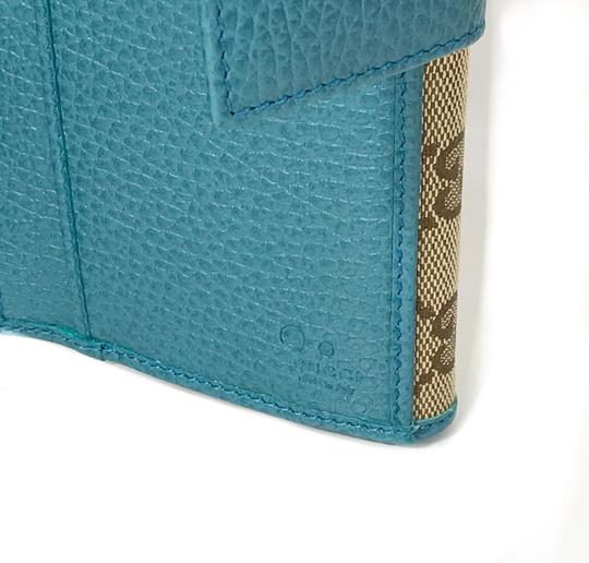 Gucci NEW GUCCI 231841 GG Guccissima Canvas Wallet Image 8