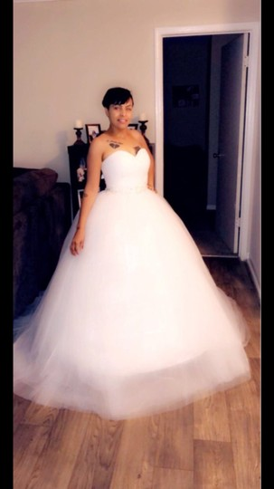 White Or Ivory Sweetheart Gowns 2-26w Standard Or Plus Formal Wedding Dress Size OS (one size) Image 9