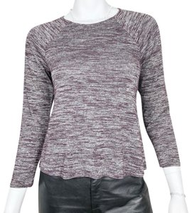 Wilfred Top purple & white
