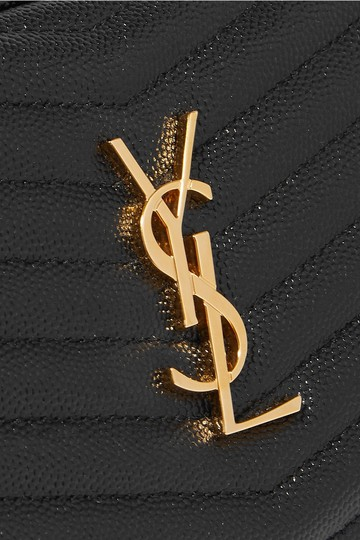 Saint Laurent Monogram Envelope Leather Shoulder Bag Image 1