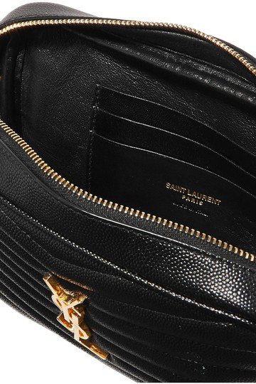 Saint Laurent Monogram Envelope Leather Shoulder Bag Image 2