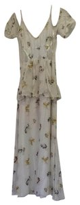 cream with flowers Maxi Dress by Free People