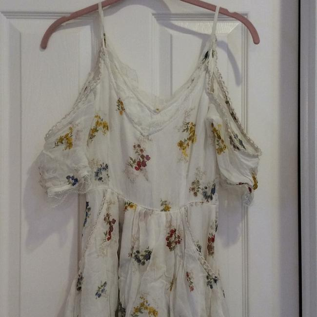 cream with flowers Maxi Dress by Free People Image 4