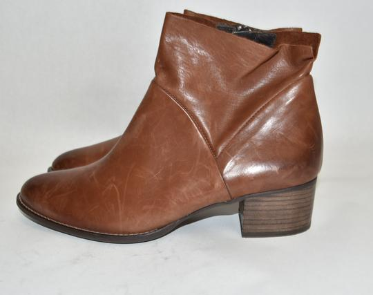 Paul Green Wedge Moto TAUPE BROWN Boots Image 2
