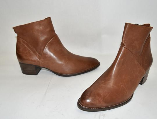 Paul Green Wedge Moto TAUPE BROWN Boots Image 4