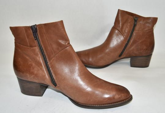 Paul Green Wedge Moto TAUPE BROWN Boots Image 6
