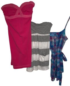 Abercrombie & Fitch Summer Tube Micro-mini Mini Dress Cover Up Top