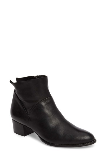 Paul Green Wedge Moto BLACK Boots Image 1