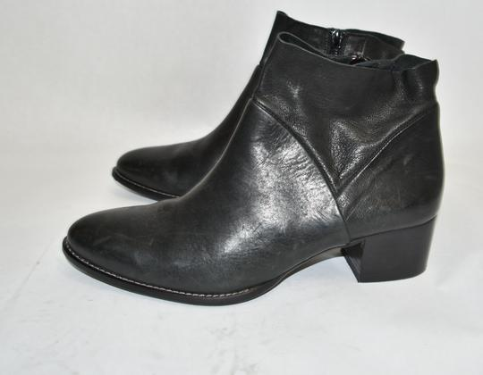 Paul Green Wedge Moto BLACK Boots Image 5