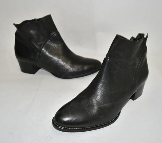 Paul Green Wedge Moto BLACK Boots Image 6