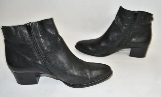 Paul Green Wedge Moto BLACK Boots Image 7