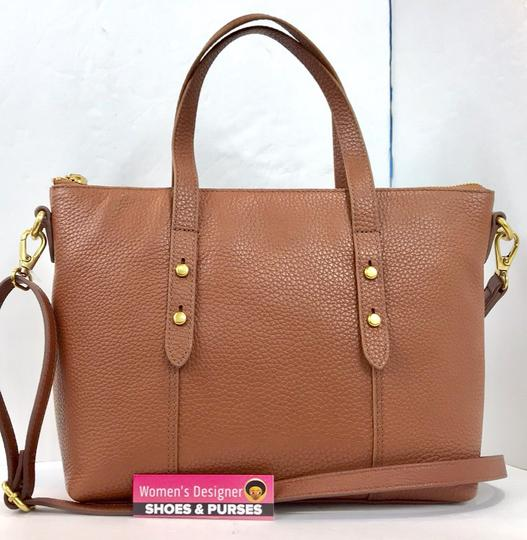 Fossil Tote in brown Image 6