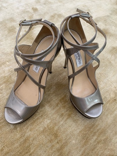 Jimmy Choo metallic taupe Pumps Image 1