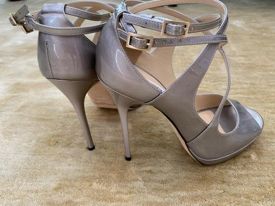 Jimmy Choo metallic taupe Pumps Image 5
