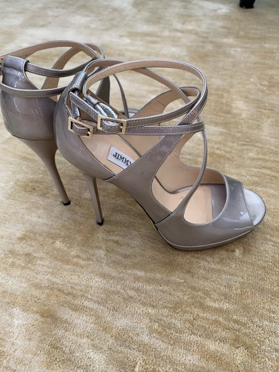 Jimmy Choo metallic taupe Pumps Image 6