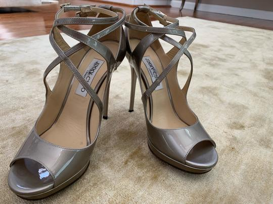 Jimmy Choo metallic taupe Pumps Image 7
