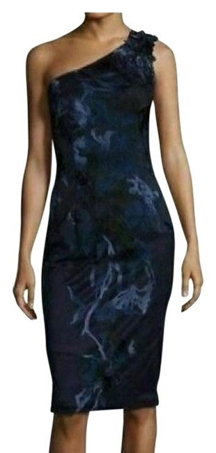 David Meister Women One Shoulder Dress Image 1