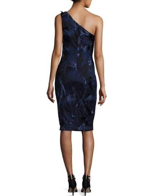 David Meister Women One Shoulder Dress Image 2