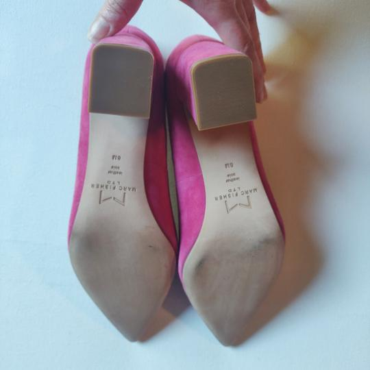 Marc Fisher Rasberry Pink Pumps Image 4