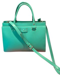 Kate Spade Satchel in Emerald Green