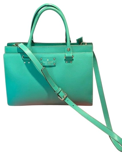 Preload https://img-static.tradesy.com/item/25816136/kate-spade-emerald-green-cowhide-leather-satchel-0-1-540-540.jpg