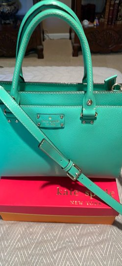 Kate Spade Satchel in Emerald Green Image 1