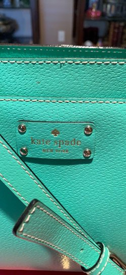 Kate Spade Satchel in Emerald Green Image 2