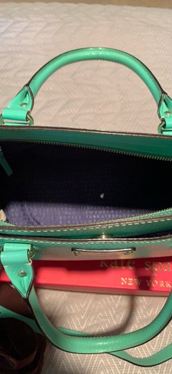 Kate Spade Satchel in Emerald Green Image 4