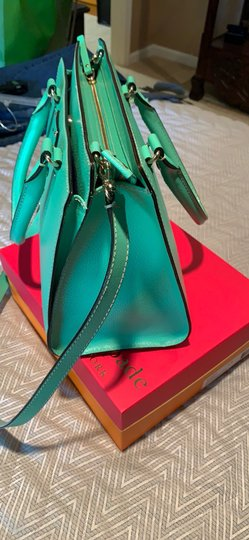 Kate Spade Satchel in Emerald Green Image 5