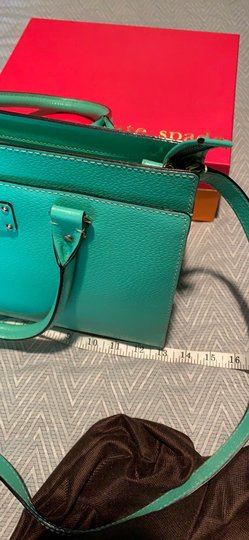 Kate Spade Satchel in Emerald Green Image 6