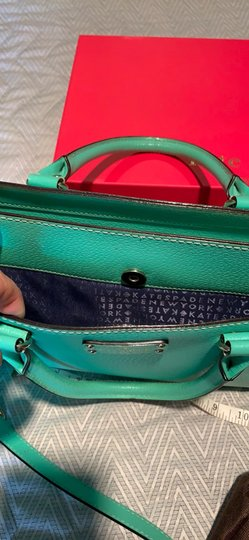 Kate Spade Satchel in Emerald Green Image 7