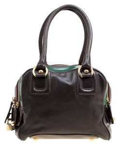 Dolce&Gabbana Leather Satchel in Multicolor