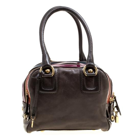 Dolce&Gabbana Leather Satchel in Multicolor Image 1