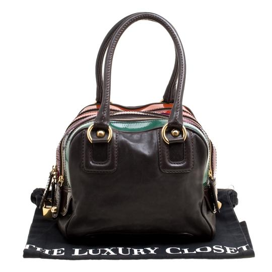 Dolce&Gabbana Leather Satchel in Multicolor Image 11