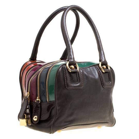 Dolce&Gabbana Leather Satchel in Multicolor Image 3