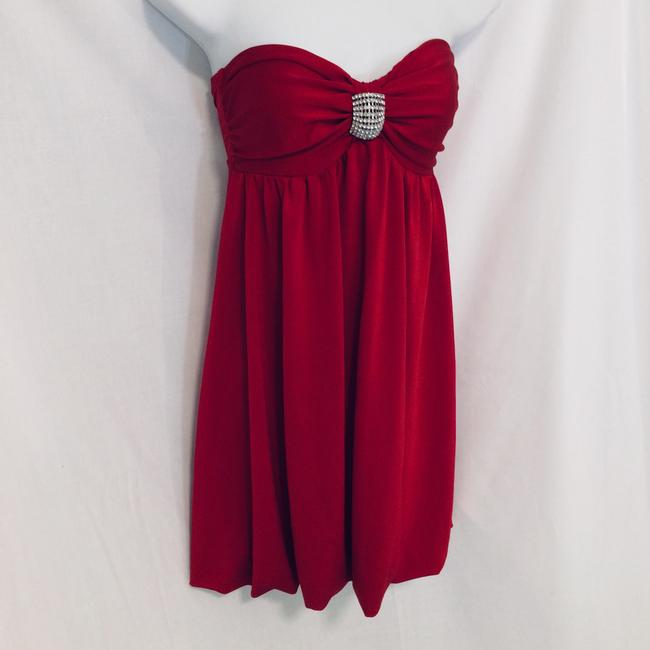 Frederick's of Hollywood short dress Red on Tradesy Image 1