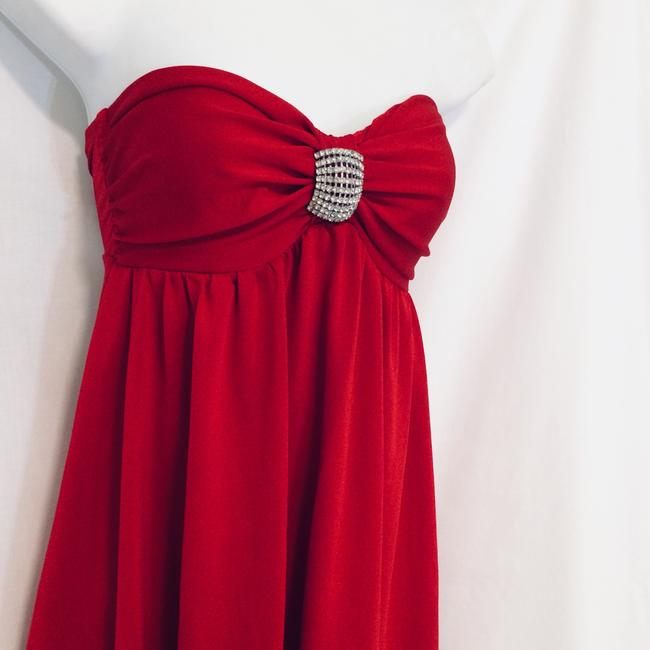 Frederick's of Hollywood short dress Red on Tradesy Image 2