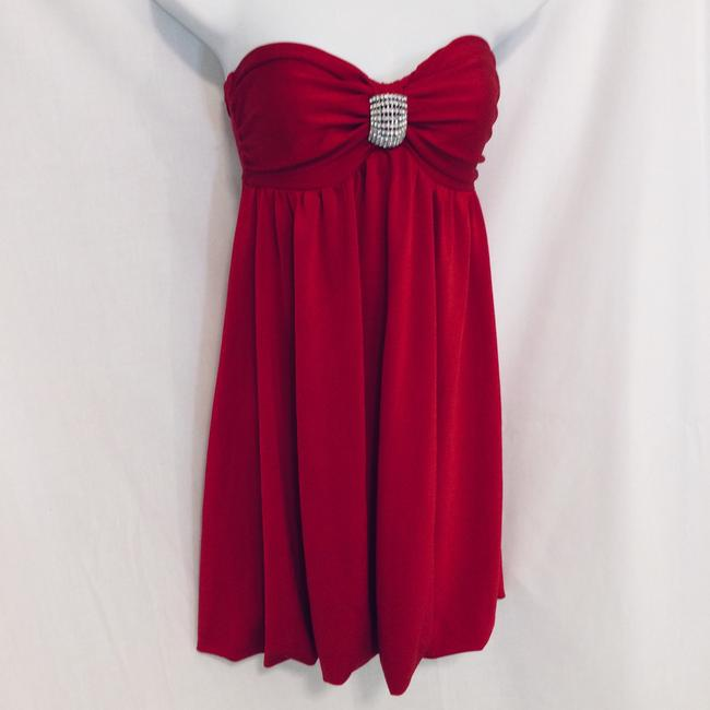 Frederick's of Hollywood short dress Red on Tradesy Image 4