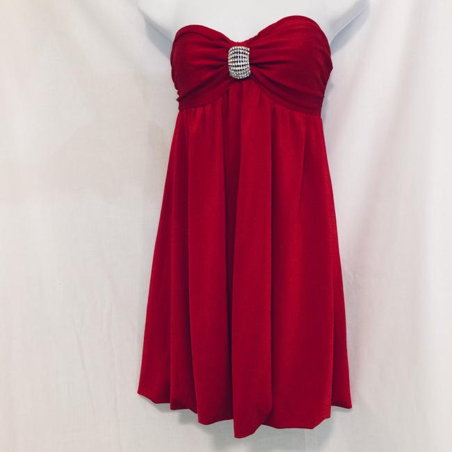 Frederick's of Hollywood short dress Red on Tradesy Image 6