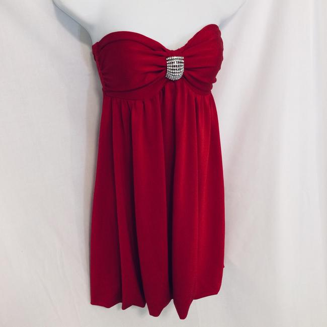 Frederick's of Hollywood short dress Red on Tradesy Image 7