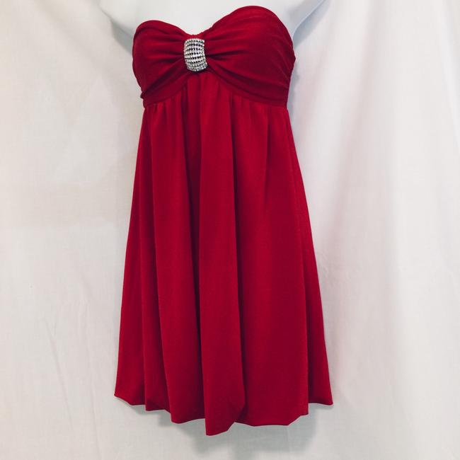 Frederick's of Hollywood short dress Red on Tradesy Image 9