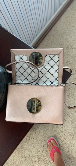 Kate Spade Rose Gold Clutch Image 4