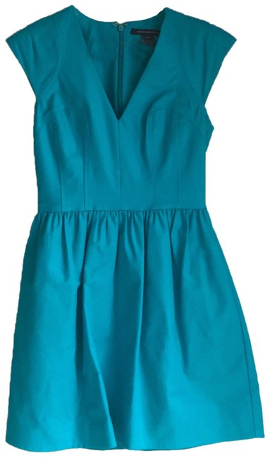 Preload https://img-static.tradesy.com/item/25816288/french-connection-turquoise-53372-short-cocktail-dress-size-4-s-0-1-650-650.jpg