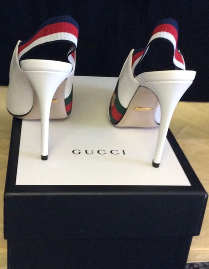 Gucci Great White Pumps Image 1