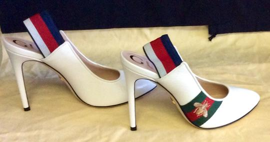 Gucci Great White Pumps Image 2