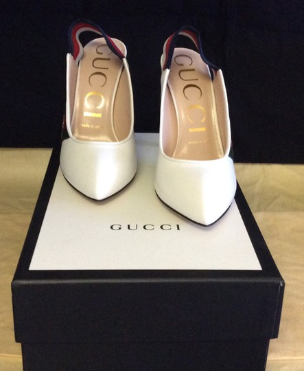 Gucci Great White Pumps Image 3
