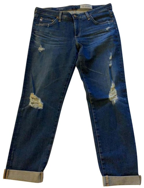 Preload https://img-static.tradesy.com/item/25816305/ag-adriano-goldschmied-distressed-the-stilt-roll-up-capricropped-jeans-size-12-l-32-33-0-1-650-650.jpg