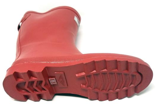 Forever Young Midcalf Rubber Rainboots Wellies Galoshes Red Boots Image 2